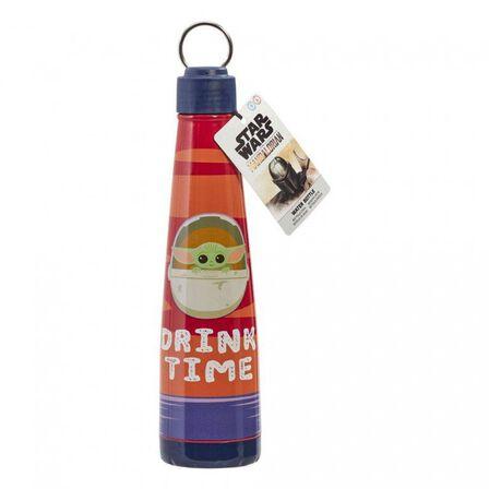 FUNKO TOYS - Funko Star Wars Mandalorian The Child Metal Water Bottle Drink Time