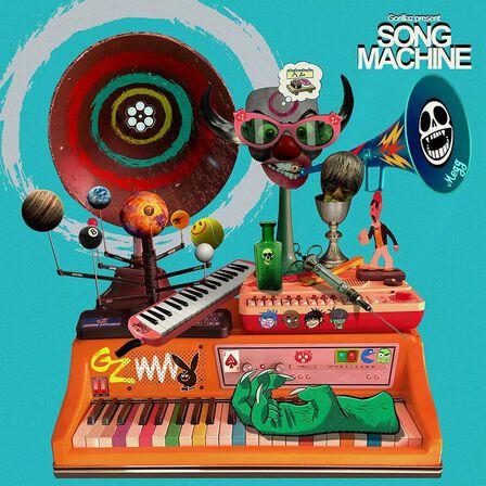 WARNER MUSIC - Song Machine Season One Strange Timez   Gorillaz