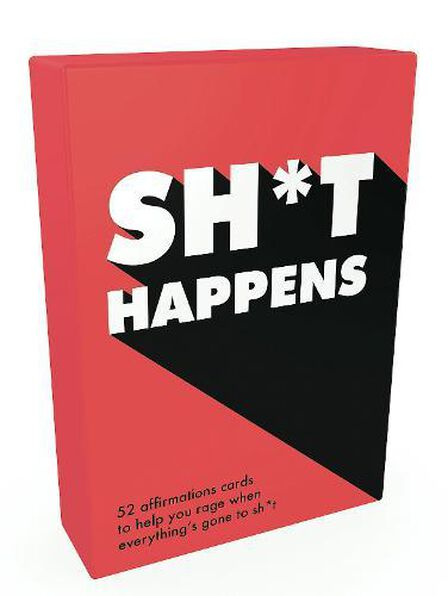 SUMMERSDALE PUBLISHERS - Sh*T Happens 52 Cards Of Upbeat Quotes And No-Nonsense Statements