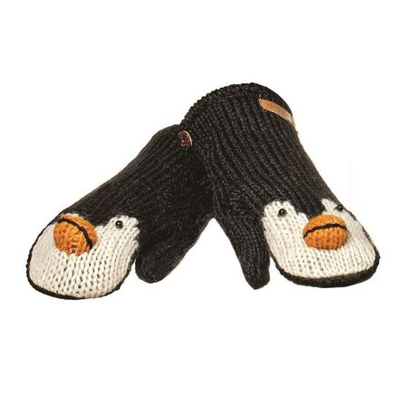 KNITWITS - Peppy The Penguin Mittens