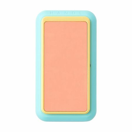 HANDL NEW YORK - Handl New York Glow In The Dark Grip & Stand Coral/Mint for Smartphones
