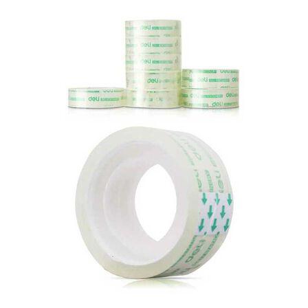 DELI - Deli Office Tape 18 mm x 20Y x 38 mm 8 Rolls/Tube Transparent