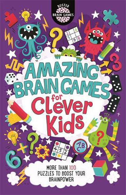 BUSTER BOOKS UK - Amazing Brain Games for Clever Kids
