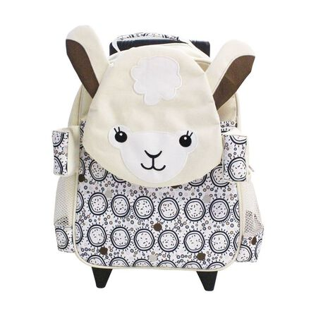 LES DEGLINGOS - Muchachos the Lama Medium Trolley Backpack