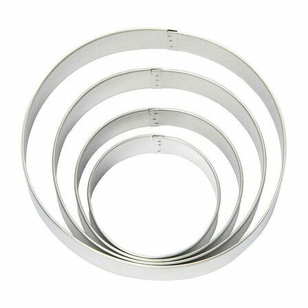 WILTON BRANDS INC. - Wilton Circles Nesting Cookie Cutters [Set of 4]