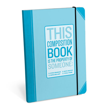 KNOCK KNOCK - Knock Knock Composition Book Hyper Organized Notebook