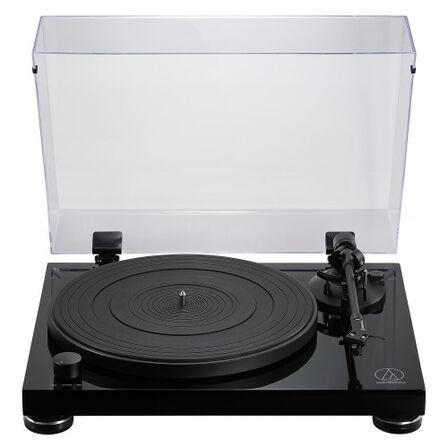 AUDIO TECHNICA - Audio-Technica AT-LPW50PB Audio Turntable Belt-Drive Black