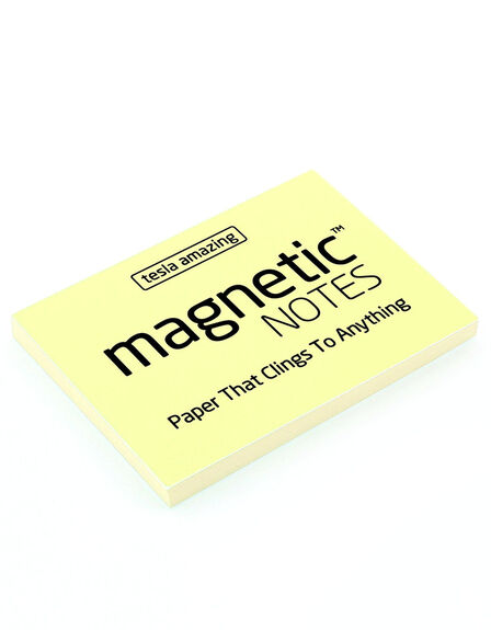 MAGNETIC STICKY NOTES - Magnetic Notes Yellow S