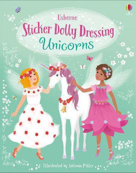 USBORNE PUBLISHING LTD UK - Sticker Dolly Dressing Unicorns