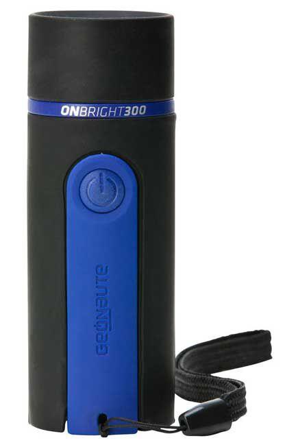 FORCLAZ - Onbright 300 rubber bivouac torch 30 lumens - blue, Unique Size