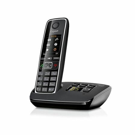 GIGASET - Gigaset C530 Cordless Phone Black