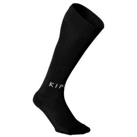 KIPSTA - EU 31-34 Kids' Football Socks F100 - Black