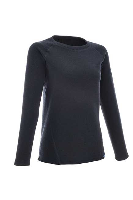 QUECHUA - Small  Arpenaz 50 women's hiking pullover, Navy Blue