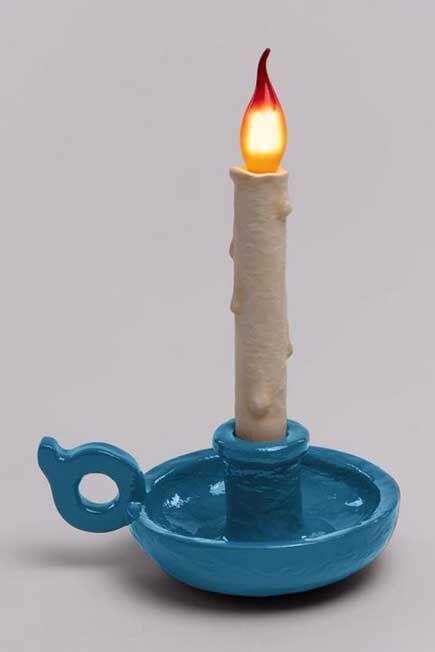 Seletti - Bugia Lamp Light Blue