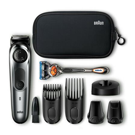 BRAUN - Braun BT7940 Rechargeable Beard Trimmer & Hair Trimmer + Toiletry Set