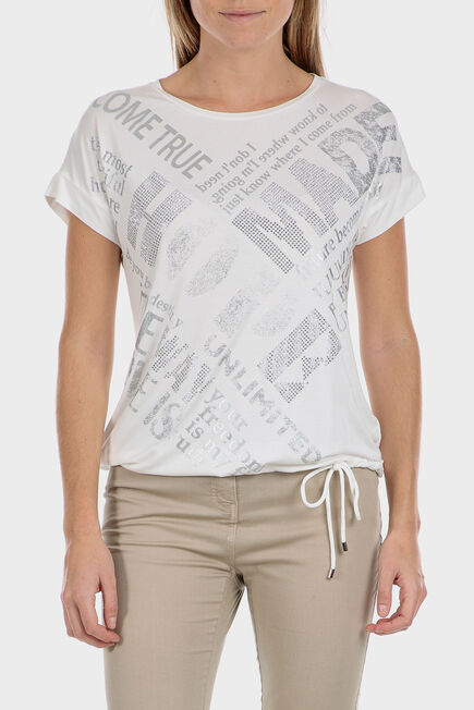 Punt Roma - T-shirt with drawstring