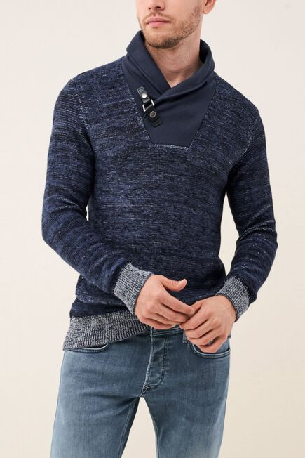 Salsa Jeans - Black Knitted Jersey With Works