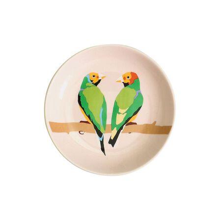 EMILY BROOKS - Emily Brooks Ceramic Trinket Tray Birds