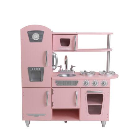 KIDKRAFT - Kidkraft Vintage Play Kitchen Pink