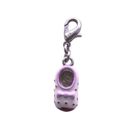 BOMBAY DUCK - Bombay Duck Spotty Baby Shoe Charm