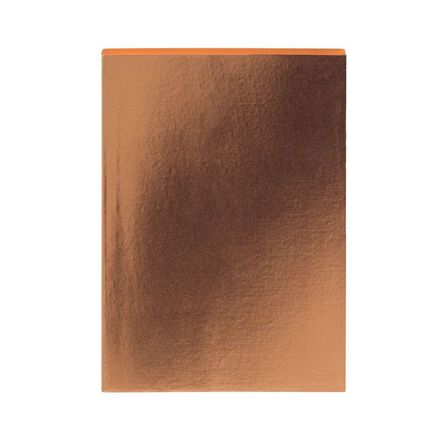 GO STATIONERY - Colourblock Metallic Copper A5 Notebook