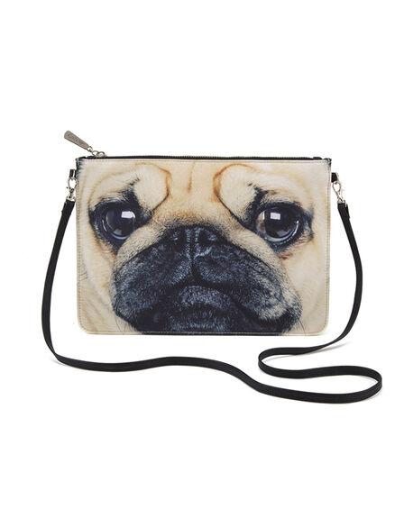 CAT'S EYE - Cats Eye Pug Cross Body Bag
