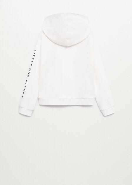 Mango - natural white Tweety cotton sweatshirt, Kids Girl