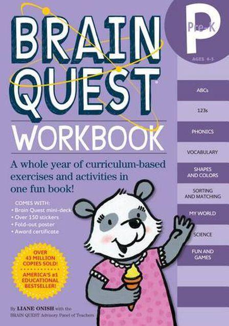 WORKMAN PUBLISHING USA - Brain Quest Workbook Pre-K
