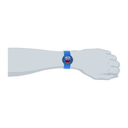 SESAME STREET MERCHANDISE - Sesame Street Grover Slap Watch
