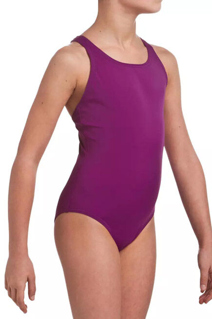 NABAIJI - Leony Girls' One-Piece Swimsuit - Purple, 7-8Y