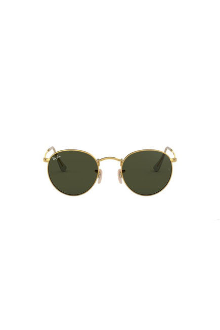 RAY-BAN - Gold Round RB3447 ROUND METAL