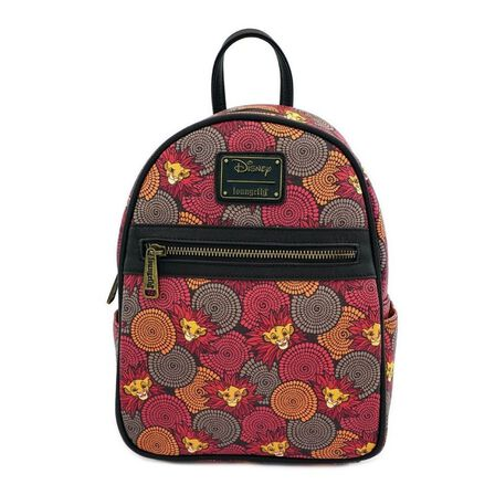 LOUNGEFLY - Loungefly Lion King Printed Mini Backpack