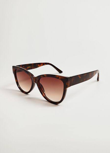 Mango - Brown Acetate Frame Sunglasses, Women