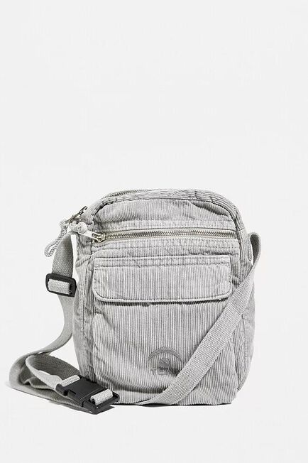 Urban Outfitters - Grey Temporary Collective Corduroy Crossbody Bag