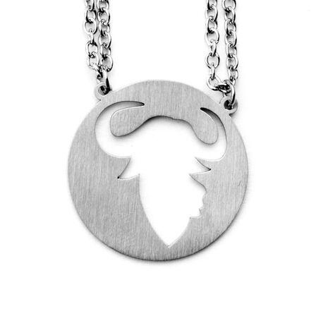 JAECI DESIGNS - Jaeci Ox Necklace Silver