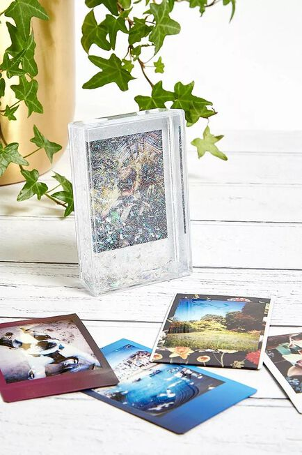 Urban Outfitters - Clear Holographic Moon Instax Frame