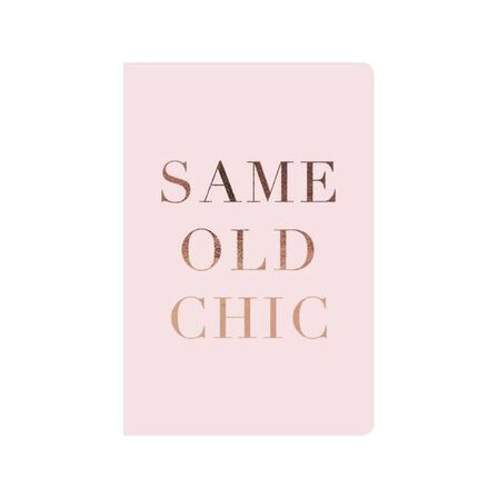 GO STATIONERY - Classic Diaries WTV Full Year Diary Same Old Chic A5 2020