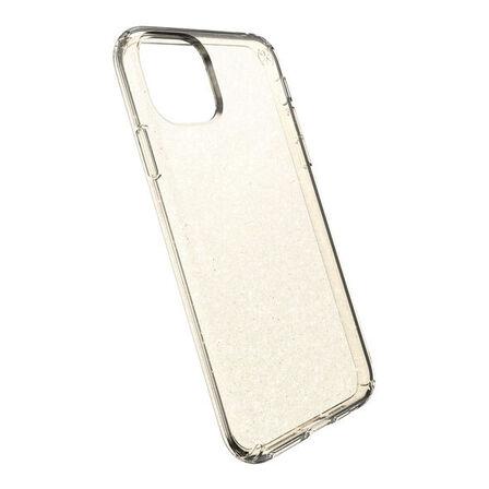 SPECK - Speck Presidio Clear + Glitter Gold Case for iPhone 11 Pro Max