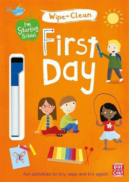 QUERCUS UK - First Day Wipe-Clean Book with Pen