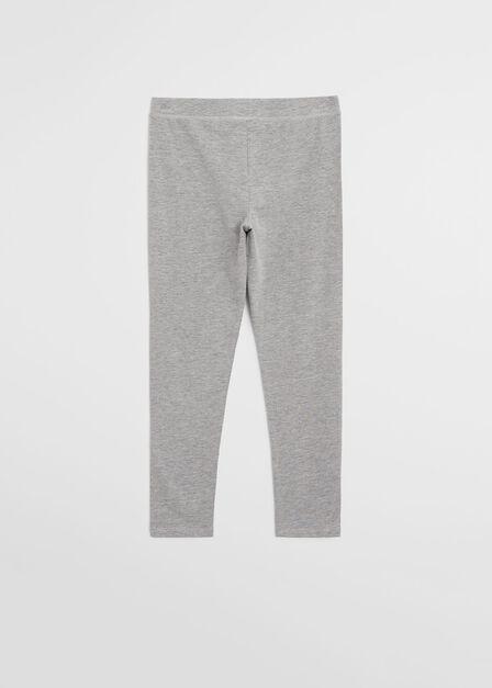 Mango - medium grey Organic cotton leggings