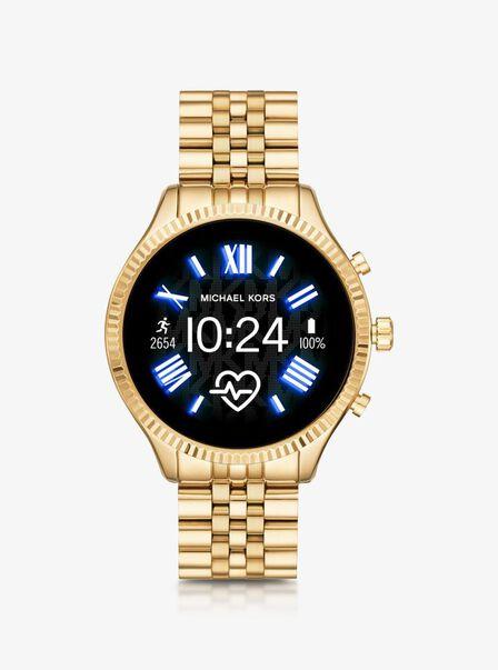 MICHAEL KORS - Michael Kors MKT5078 Slim Gold Smart Watch 44mm [Gen 5]
