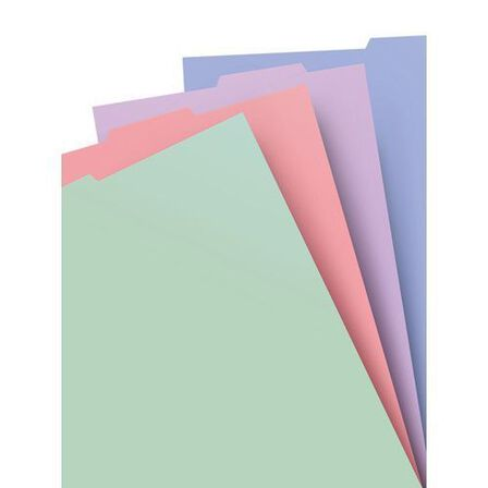 FILOFAX - Filofax Classic Pastels A4 Notebook Refill Assorted Notebook Refill