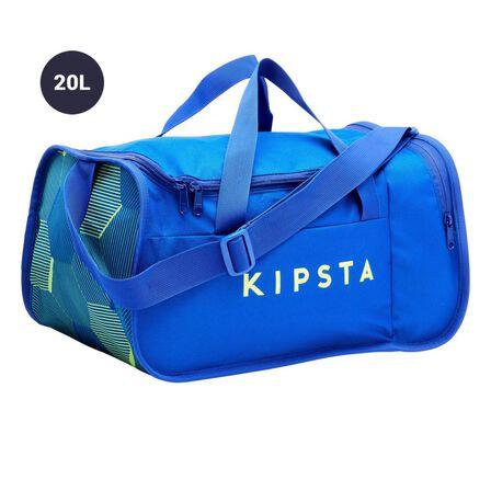 KIPSTA - 20L Kipocket Team Sports Bag 20L - Bright Indigo