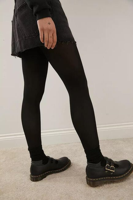 Urban Outfitters - BLK 80 Denier Opaque Black Tights