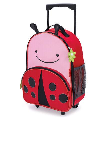 SKIP HOP - Skip Hop Zoo Kids Rolling Luggage Ladybug