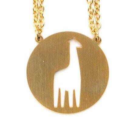JAECI DESIGNS - Jaeci Giraffe Necklace Gold