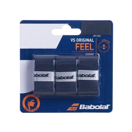 BABOLAT - Unique Size  Tennis Overgrip VS Original - Black, Default