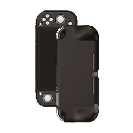 GAMEWILL - Gamewill Silicone Protective Cover Black with Grip for Nintendo Switch Lite