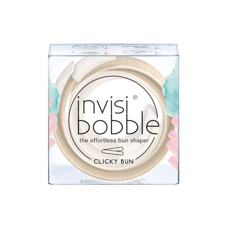 INVISIBOBBLE - Invisibobble Clicky Bun Hanging Pack To Be Or Nude To Be Hair Tie