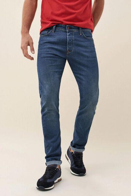 Salsa Jeans - Blue Slender slim carrot coolmax medium jeans